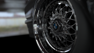 BMW e28 rim closeup by sTa0114
