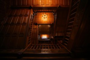 Up Stairs by josephacheng