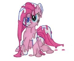 Paint Thinner Pinkamena by MetaDragonArt