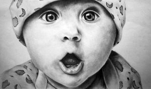 Baby Portrait I by mtart-cn