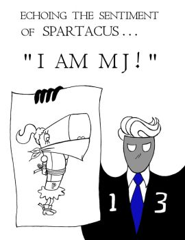 Spartacus Support ... I AM M J by vladen13