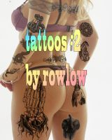 tattooz 2 adobe brushes by rowlee