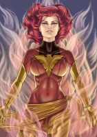 jean grey phoenix by cerifin32