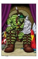 World War Hulk by statman71