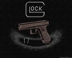 Glock 17 - nonwide by thypentacle