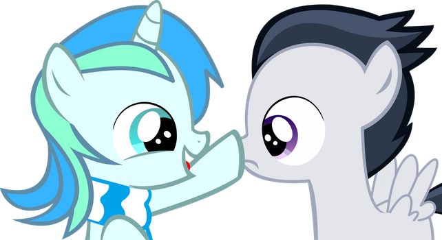 Cyan Lightning and Rumble Vector - Boop by CyanLightning