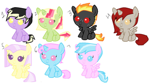 (Reuploaded) Adopts CLOSED by Autummstar
