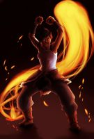 Korra: Fire by dontevenknow-anymore