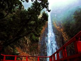 Nachi Falls by Cereven