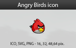 Angry Birds icon by vicing