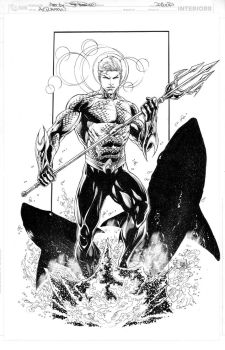 AQUAMAN COMMISSION by JoePrado2010