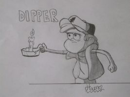 Dipper Pines by TigerLily45