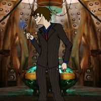 Dance Tenth Doctor , Dance by capefoxalix