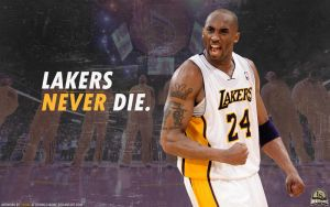Lakers never die. by lisong24kobe