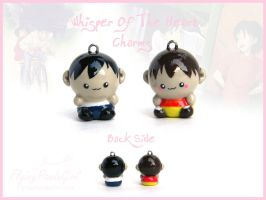 Whisper Of The Heart Charms by FlyingPandaGirl