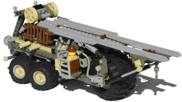 'Onager' Five-Wheeled Diesel Launch Truck Mk. XXIX by RRaillery