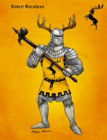 Robert Baratheon by Felipenn