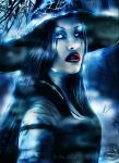 halloween brings the witch by L-A-Addams-Art