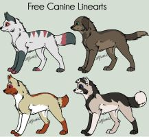 Canine Adoptables set  4. by MichelsAdoptions