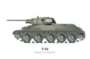 T-34 model 1941 by MercenaryGraphics