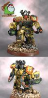 Imperial Fists Centurion Devastators by HomeOfCadaver