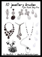 10 Jewellery Brushes - for PsP by DeadLulu