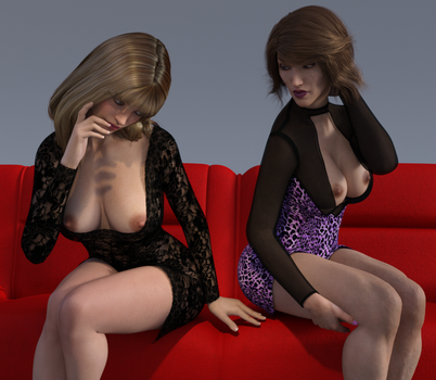 Laura and lilji 5 by psychicdelica