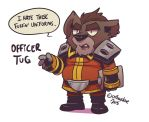 Officer Tuug by SupaCrikeyDave