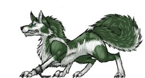 RQ - Wolf Link by InfernoKat