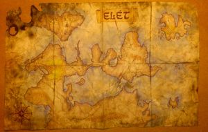 FC: Map of Elet by punki123