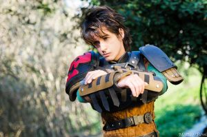Hiccup Cosplay - HTTYD2 - That was a close one! by AlexanDrake89