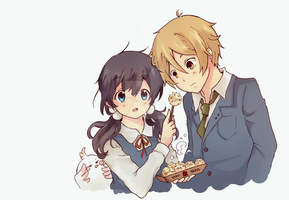 Tamako Market : Want some tako? by hanachanvongola