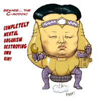 TLIID March MODOK Madness 2015 - Kim Jong Un by Nick-Perks