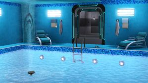 TARDIS in The Sims 3 (Pool) by AnastasiyaKosenko