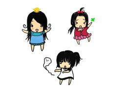 Ahuhuhu... The Huynh Chibis by Michiko-Rose