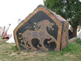 Wolin '08 - rune stone by Carrwalyn