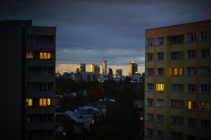 panorama of Warsaw by alv91