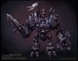 Knight of Valor Concept by tsabszy