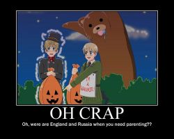 Hetalia Pedo Bear Motivational by RabidOtakuGirls