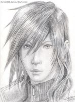 Lightning Portrait - FFXIII by KyraXIII