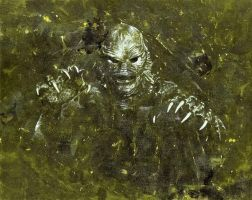 Creature from the Black Lagoon by JasonMcKittrick