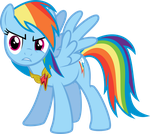 WTF Face Rainbow Dash by TryHardBrony