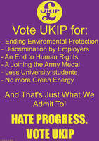 (Don't) Vote UKIP by mclj10