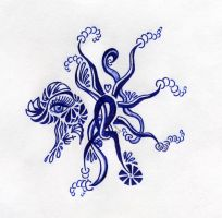 AbstractOctopus by Poess