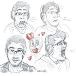 Mark Sketches by sibbies