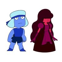 Ruby and Sapphire color swap by xXLizarithXx