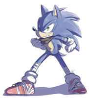 Sonic Boom :sketch: by Mitzy-Chan