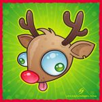 rudolph by fizzgig