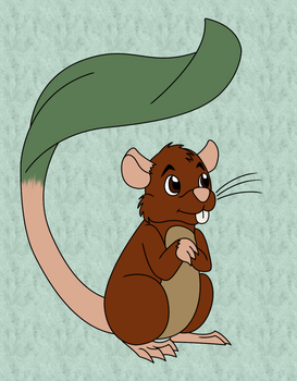 Leaftail mouse by chili19