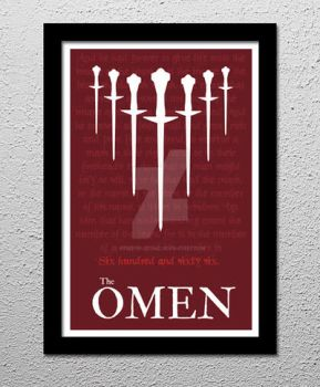 The Omen Alternate Poster by kreepykustomz
